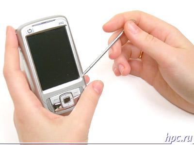 HP iPAQ rw6815: в руках