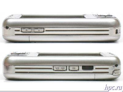 HP iPAQ rw6815: вид сбоку