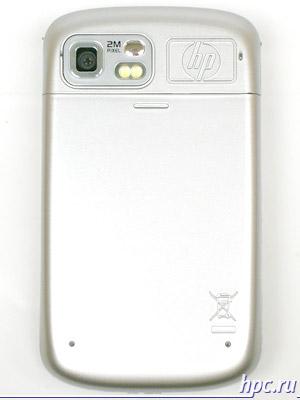 HP iPAQ rw6815: задняя сторона