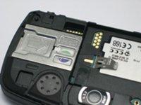 Nokia 7710 Крепление SIM-карты.