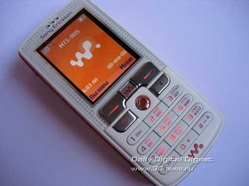 Телефон sonyericsson w800i smooth white