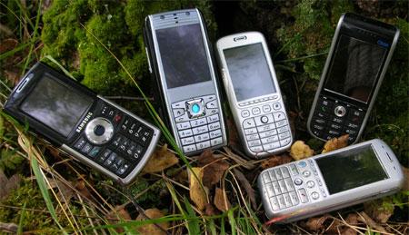 Samsung i300, RoverPC M1, i-Mate SP4m, Qtek 8310, i-MateSP5m