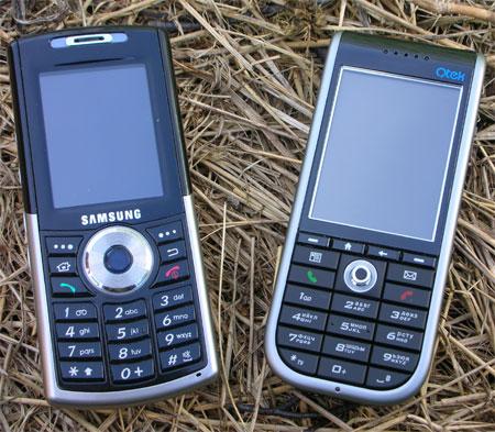 Samsung i300 и Qtek 8310