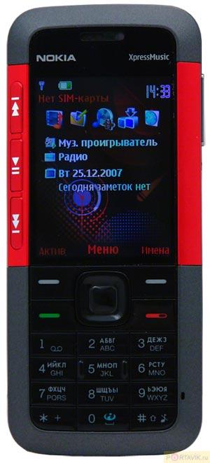 Обзор телефона Nokia 5310 XpressMusic