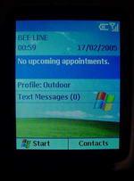 Motorola MPx220 windows