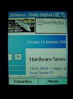 Motorola MPx220 броузер