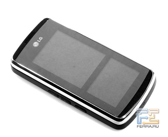 LG KF600: дизайн 1
