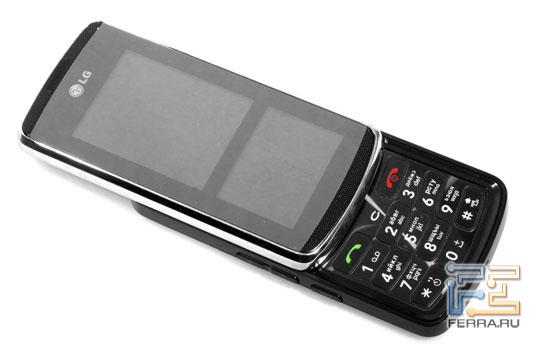 LG KF600: дизайн 2