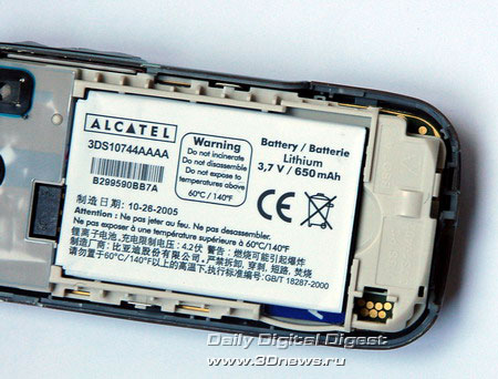 Alcatel OT C750