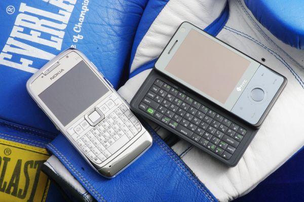 Дуэль: коммуникатор HTC Touch Pro против смартфона Nokia E71