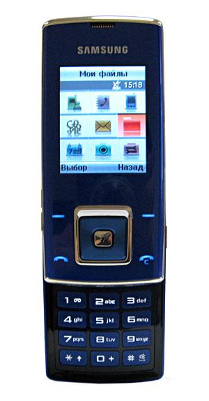 Телефон samsung sgh-j600e purple blue