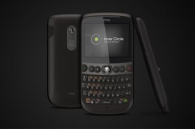 HTC Snap, моноблок с QWERTY-клавиатурой