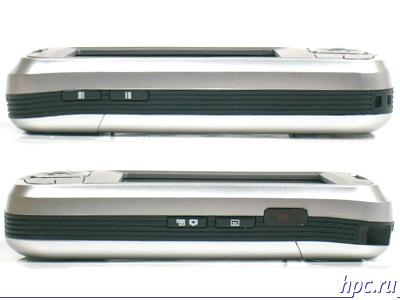 RoverPC G5: левый и правый торцы