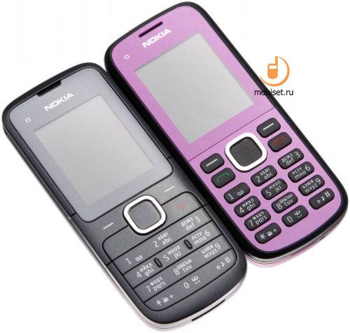 Обзор Nokia C1-02: простота с медийным уклоном (часть 1)