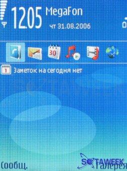 Nokia N93 Экран