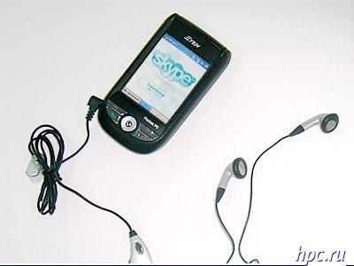 E-Ten M600 и Skype