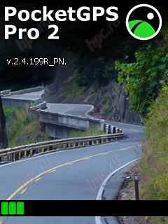 PocketGPS Pro: загрузка программы