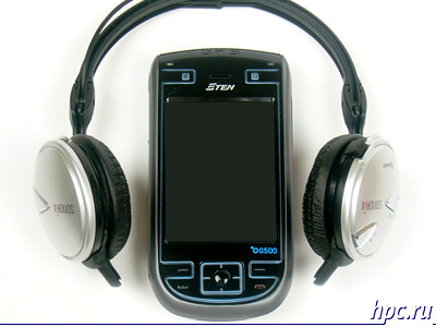 E-Ten G500: работа с Bluetooth гарнитурой