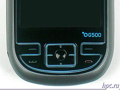 E-Ten G500: блок управляющих клавиш