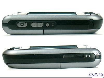 E-Ten G500: левый и правый торцы