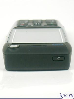 HTC MTeoR: верхний торец