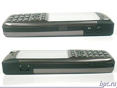 HTC MTeoR: левый и правый торцы