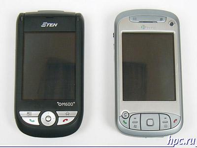 E-Ten M600+ и HTC TyTN