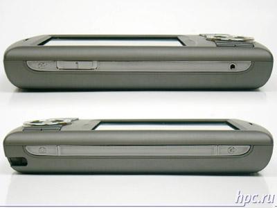 HTC P3300: левый и правый торцы