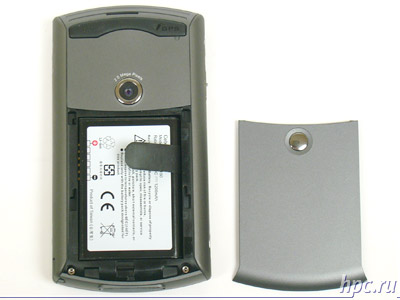 HTC P3300: отсек аккумулятора