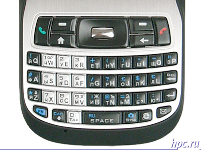 HTC S620: QWERTY-клавиатура