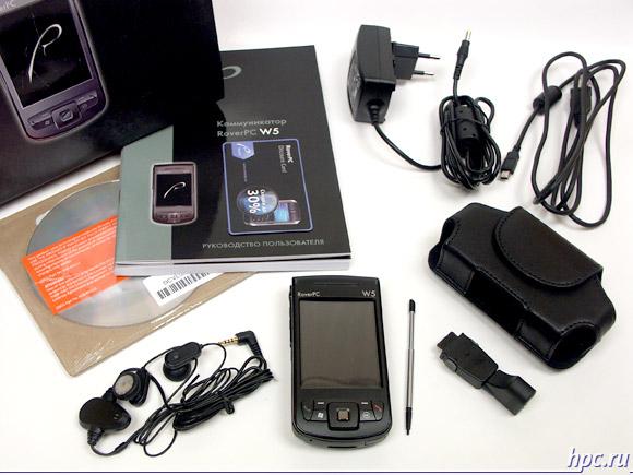 RoverPC W5: комплект