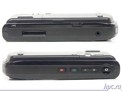 RoverPC W5: правый и левый торцы