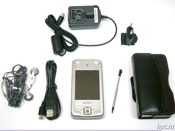 Glofiish M700: комплект поставки
