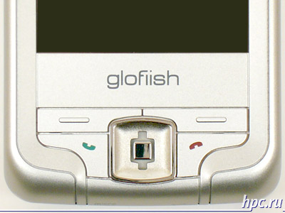 Glofiish M700: нижний клавишный блок