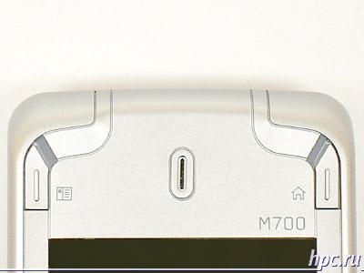 Glofiish M700: верхний клавишный блок