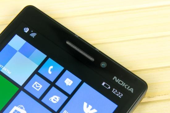 Фронтальная камера Nokia Lumia 930