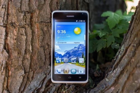 Дизайн Huawei Ascend Y530