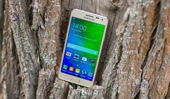 Экран Samsung Galaxy Alpha