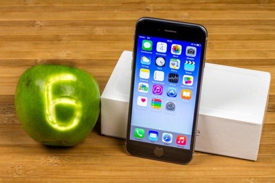 Apple iPhone 6 на iOS 8.1