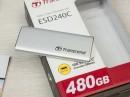 Обзор внешнего SSD накопителя Transcend ESD240C: компактный, быстрый и красивый