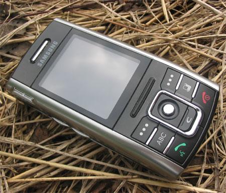 Samsung D720 в закрытом состоянии