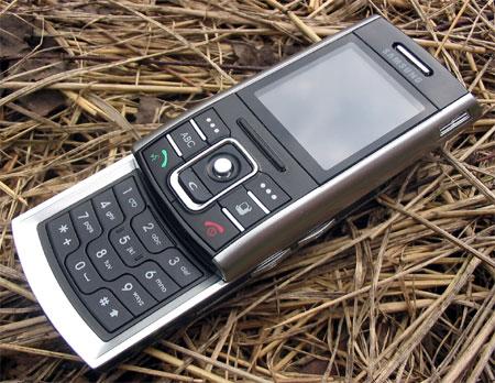 Samsung D720 в открытом состоянии
