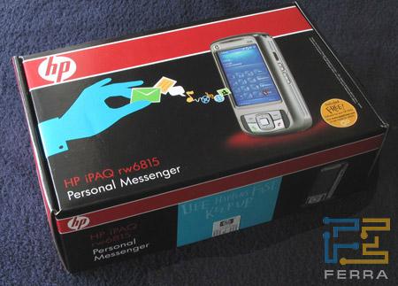 HP iPAQ rw6815: коробка