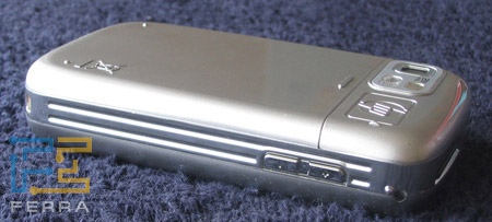 HP iPAQ rw6815: левая боковая грань