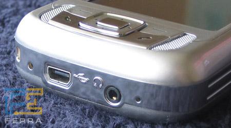 HP iPAQ rw6815: нижний торец