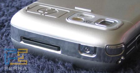 HP iPAQ rw6815: верхний торец