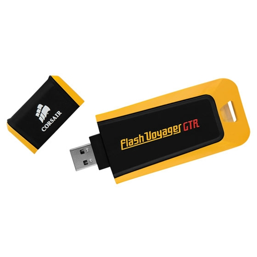 Флешка USB 128Gb Corsair Voyager GTX CMFVYGTX3B-128GB черно-красный