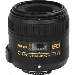 Nikon 40mm f/2.8G AF-S Micro - фото 1