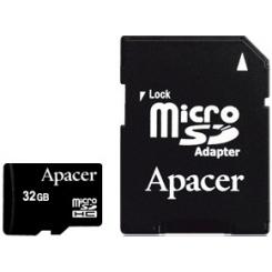 Apacer MicroSDHC Class 10 32Gb - фото 1