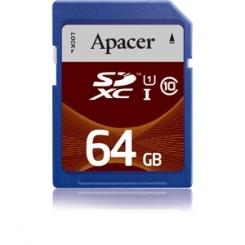 Apacer microSDXC Class 10 64GB UHS-I - фото 1